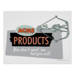Wile E Coyote Acme Products 9 Poster