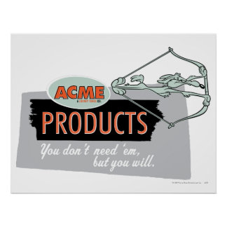 Wile E Coyote Acme Products 9 Posters
