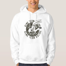 Wile E. Coyote Acme Team Racing B/W Hoodie