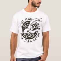 Wile E. Coyote Acme Team Racing B/W T-Shirt