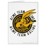 Wile E. Coyote Acme Team Racing Card