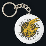 "Wile E. Coyote Acme Team Racing Keychain<br><div class=""desc"">Design part of a series from the Motorfreaks Collection</div>"