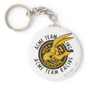 Wile E. Coyote Acme Team Racing Keychain