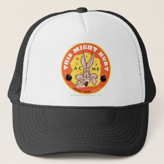 Wile E Coyote Acme - This Might Hurt Trucker Hat