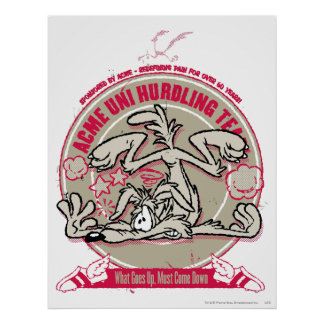 Wile E. Coyote ACME Uni Hurdling Team Posters