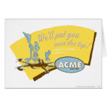 Wile E Coyote and Road Runner Acme Cards