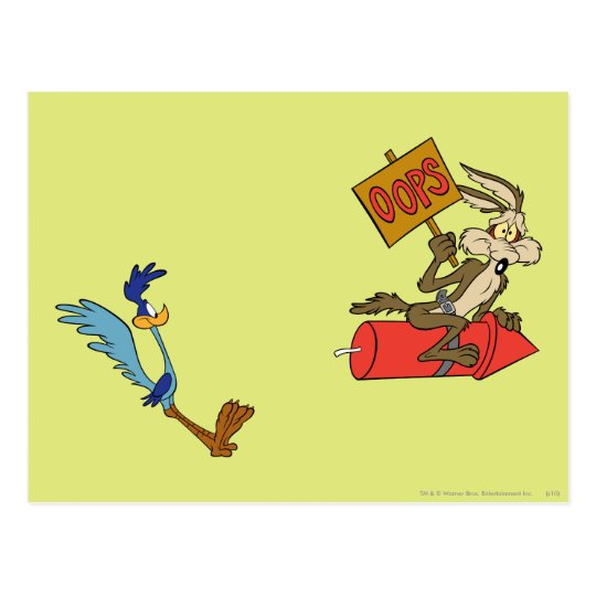 Wile E Coyote and ROAD RUNNER™ Acme Products 5 2 Postcard