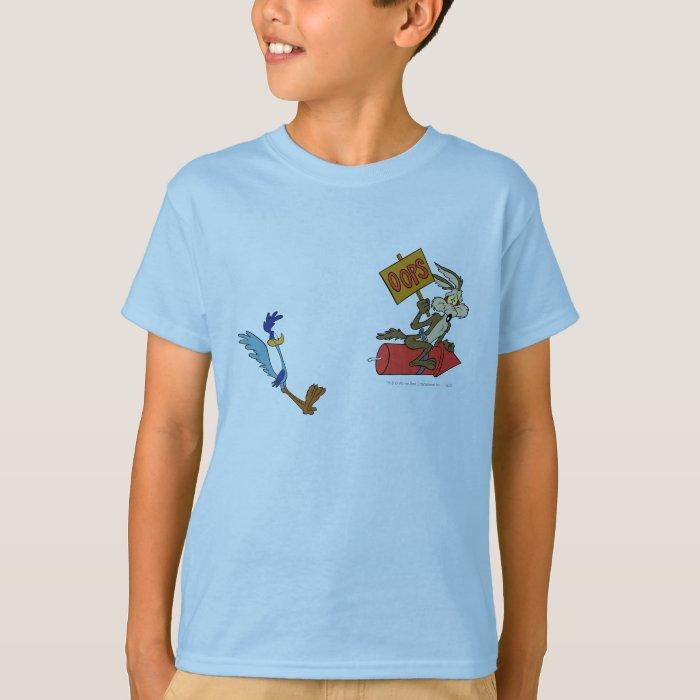 Wile E Coyote Kids T Shirt