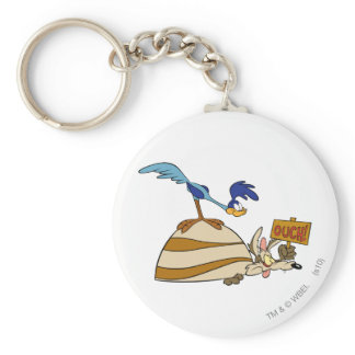 Wile E Coyote and ROAD RUNNER™ Acme Products 5 Keychain