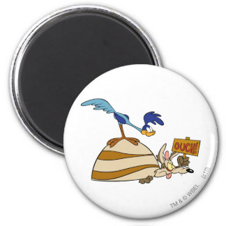 Wile E Coyote and ROAD RUNNER™ Acme Products 5 Magnet