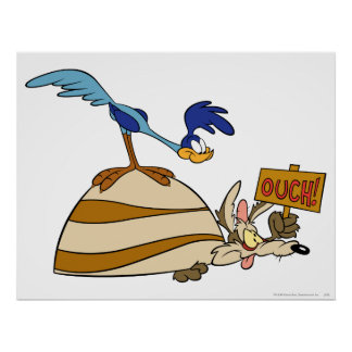 Wile E Coyote and ROAD RUNNER™ Acme Products 5 Poster