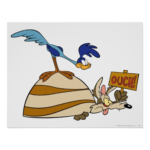 Wile E Coyote and Road Runner Acme Products 5 Posters
