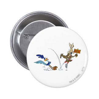 Wile E Coyote and ROAD RUNNER™ Acme Products 7 Pinback Button