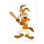 Wile E Coyote Batter's Up Postcard
