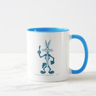 Wile E. Coyote Blue Aha! Mug
