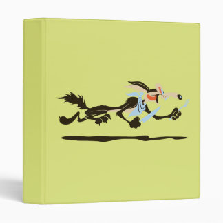 Wile E. Coyote Chasing dinner Binder