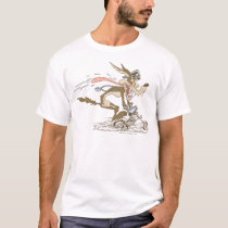Wile E. Coyote Cycle Racer T-Shirt
