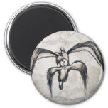 Wile E Coyote Down on his Luck 2 Inch Round Magnet