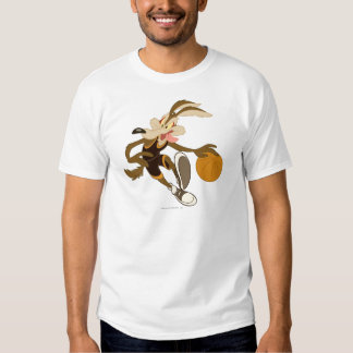 Wile E Coyote Dribbling Through Competition Shirts