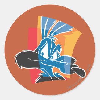 Wile E Coyote Expressive 22 Classic Round Sticker