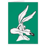 Wile E Coyote Expressive 7 Greeting Card