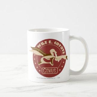 Wile E. Coyote Genius Classic White Coffee Mug