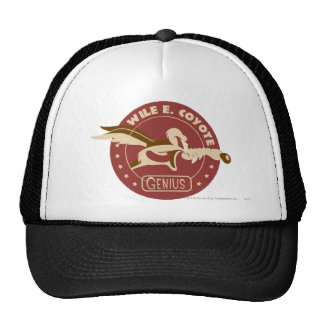 Wile E. Coyote Genius Trucker Hat