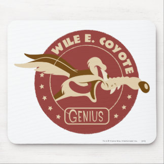 Wile E. Coyote Genius Mouse Pad