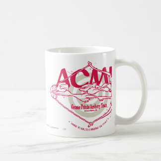 Wile E. Coyote Grosse Pointe Archery Team Coffee Mug
