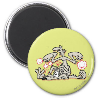 Wile E. Coyote Hard Landing Magnet