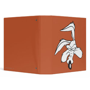 Wile E. Coyote Head Shot binder