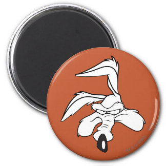 Wile E. Coyote Head Shot Magnet