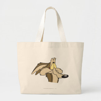 Wile E. Coyote Impending Doom Large Tote Bag