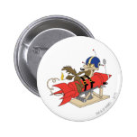 Wile E. Coyote Launching Red Rocket Button
