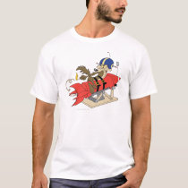 Wile E. Coyote Launching Red Rocket T-Shirt