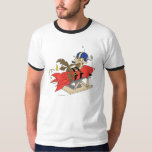 Wile E. Coyote Launching Red Rocket T-shirts