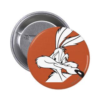 Wile E. Coyote Looking disimulado Pin Redondo 5 Cm