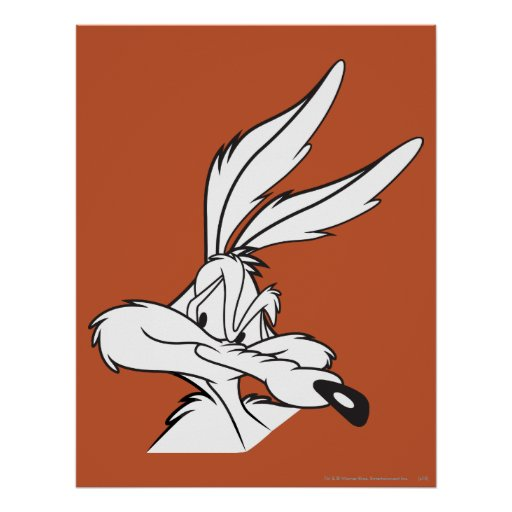 Wile E. Coyote Looking disimulado Posters