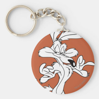 Wile E. Coyote Looking Pleased Keychain