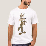 """WILE E. COYOTE™ Looking Proud T-Shirt<br><div class=""""desc"""">Wile E. Coyote Character Art</div>"""