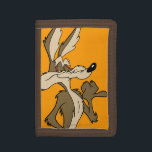 """WILE E. COYOTE™ Looking Proud Trifold Wallet<br><div class=""""desc"""">Wile E. Coyote Character Art</div>"""