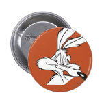 Wile E. Coyote Looking sneaky 2 Inch Round Button