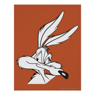 Wile E. Coyote Looking sneaky Print
