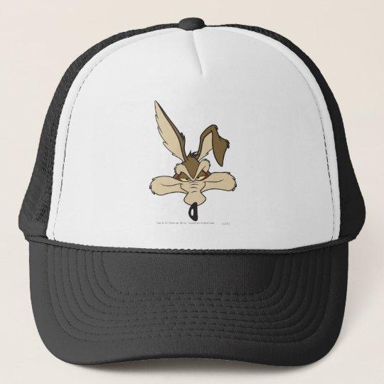 Wile E. Coyote Pleased Head Shot Trucker Hat