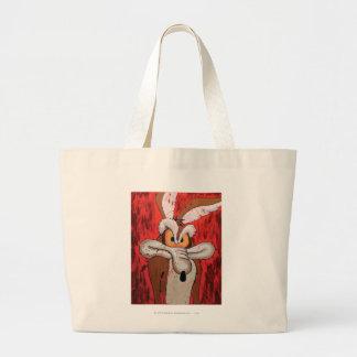 Wile E Coyote Red Fury Tote Bags