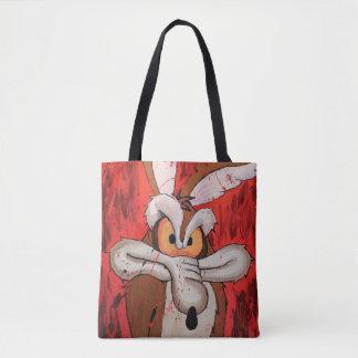 Wile E Coyote Red Fury Tote Bag