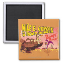 WILE E. COYOTE™ & ROAD RUNNER™ BEEP BEEP!™ MAGNET