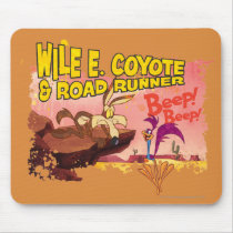 WILE E. COYOTE™ & ROAD RUNNER™ BEEP BEEP!™ MOUSE PAD