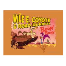 WILE E. COYOTE™ & ROAD RUNNER™ BEEP BEEP!™ POSTCARD