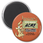 Wile E. Coyote Rope Climbing Championships 2 Inch Round Magnet